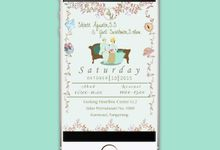 Sweet E-invitation by zuladesign