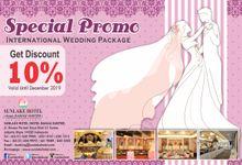 Wedding Package Promo by Hotel Sunlake