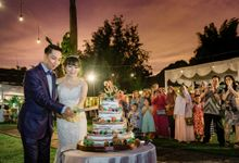 ADITYA & ELLIANA WEDDING DAY by Alegre Photography