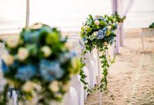Wedding of Jasper & Evita by Keraton Jimbaran Resort