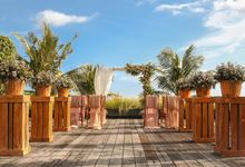 Wooden Sundeck Venue by The Haven Suites Bali Berawa Weddings