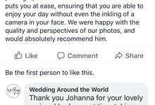 AD wedding dinner of Cameron & Johanna Barker  by Wedding Around the World