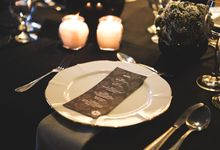 Black Theme by Mesclun Events Catering + Styling