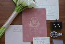 The Wedding of Zazia & Eric by The Flower Philosophy