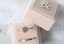 Personalised Wedding Ring Box by L'AMORE