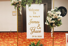 Pemberkatan New Normal James & Grace by Wedding by Renjana