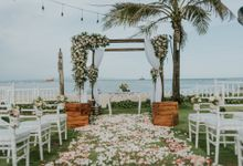 The Wedding of Brook & Paul by Amazing Bali Events