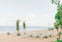 CINTA WEDDING PACKAGE - BEACHFRONT by Hyatt Regency Bali