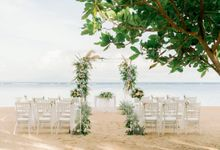 CINTA WEDDING PACKAGE - BEACHFRONT by Hyatt Regency Bali