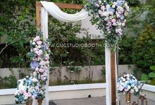 Pastel ROM & Reception - Shawn & Kaytrieese by Glitz&Glam Studiobooth