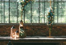 Glasshouse Seputeh Babyblue Wedding - Marcus & Annie by Glitz&Glam Studiobooth