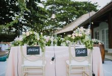 Simple Wedding in Bali Villas by Mariyasa