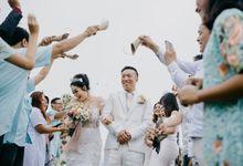 Simple Wedding in Bali Villas by Mariyasa