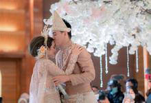 Ifanseventeen + Citra Monica Wedding Reception by Wedding Factory