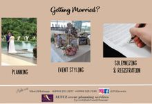 Planning, Event Styling, Solemnizing & Registration by ALTUZ events