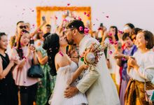 The Beautiful Multicultural Wedding of George & Yaya by Varawedding
