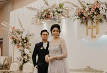 Harrison & lusi Wedding at Financial Club CIMB Niaga by AKSA Creative