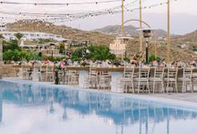An amazing wedding in Mykonos by Elias Kordelakos