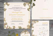 Michael & Juliyanti by Petite Chérie Invitation