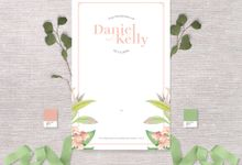 Daniel & Kelly by Petite Chérie Invitation