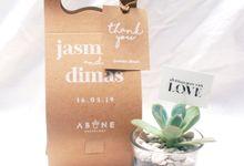 Wedding Souvenir for Dimas and Jasmine by ABANE Succulent