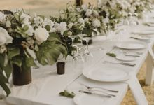 Modern Tropical Wedding by DIJON BALI CATERING