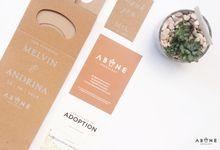 Wedding Souvenir for Melvin and Andrina by ABANE Succulent