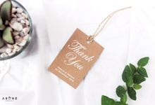 Wedding Souvenir for Nadia and Ardha by ABANE Succulent