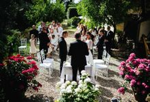 Funny outdoor norvegian wedding in Florence by Laura Barbera Photography