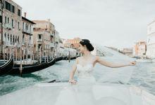Venice Church Wedding by Venice Photographer Kinga Leftska