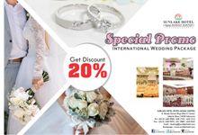 Wedding Promo 20 Percent by Hotel Sunlake