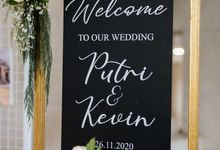 Wedding Putri & Kevin by Azila Villa