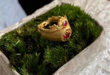 Putri and Kharis Engagement Rings by Rumme