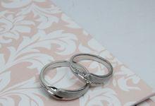 DIAMOND WEDDING RING CR0026 by V&Co Jewellery