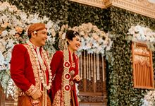 Wedding Stevanni & Seno at Klub Kelapa Gading by AKSA Creative