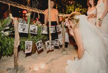 Koh Phangan Beach Wedding Laura and Andy by Phangan Weddings