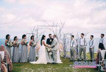 Nagisa Bali Wedding For Mrs Titis & Mr Daniel by Nagisa Bali