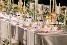 Romantic Wedding by Bali Wedding Decoration