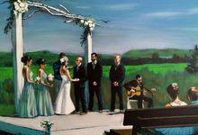 Live Wedding Art by TayloredArt