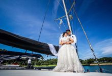 Pre Wedding Photoshoot by White Sails Yacht Pte Ltd