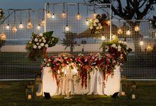 Cinta & Kevin Wedding at Ayodya Resort, Bali by Becik Florist