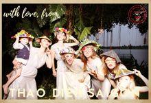 Ben & Alyssa Wedding by Printaphy Photobooth Vietnam by Printaphy Photobooth Vietnam