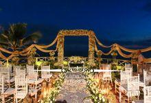 Bali wedding decoration wedding decoration lighting in bali cliff bali wedding by bali wedding decoration junglespirit Image collections