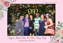 Dien & Diep Wedding by Printaphy Photobooth Ho Chi Minh Sai Gon Vietnam by Printaphy Photobooth Vietnam