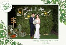 Ha & Thinh Wedding by Printaphy Photobooth Ho Chi Minh Sai Gon Vietnam by Printaphy Photobooth Vietnam