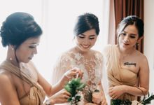 Wedding of Leony and Hendra by Le Clemmie by Amelia