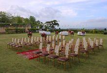 Wedding Setup by Garuda Wisnu Kencana Cultural Park