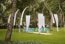 kayumanis jimbaran-wedding ceremony-garden by Kayumanis Private Villa and Spa