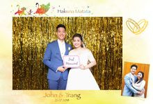 Trang & John Wedding by Printaphy Photobooth Vietnam by Printaphy Photobooth Vietnam