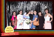 Kien & Trang Wedding by Printaphy Photobooth Vietnam by Printaphy Photobooth Vietnam
